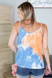 Feeling Happy Tie Dye Tank