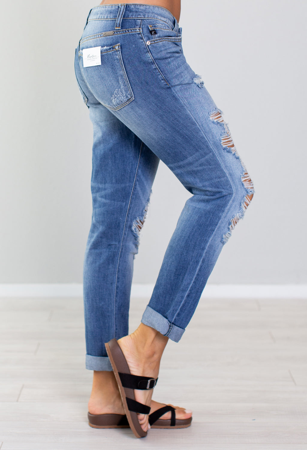 Seattle Kan Can Distressed Jeans