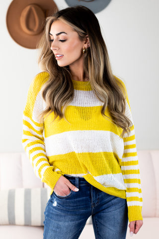 Oceanside V Neck Pullover