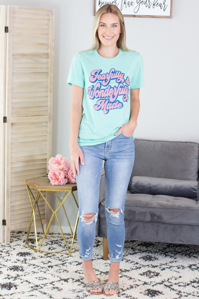 Wonderfully Made Graphic Tee - 2 Colors