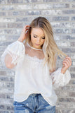Date Night Lace Top - 2 Colors