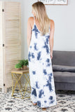 Bay Breeze Tie Dye Maxi Dress