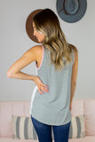 Caitlin Striped Tank Top - 2 Colors