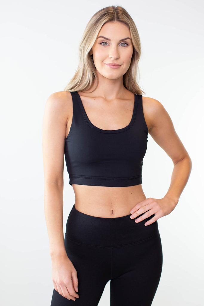 Lace Accent Sports Bra