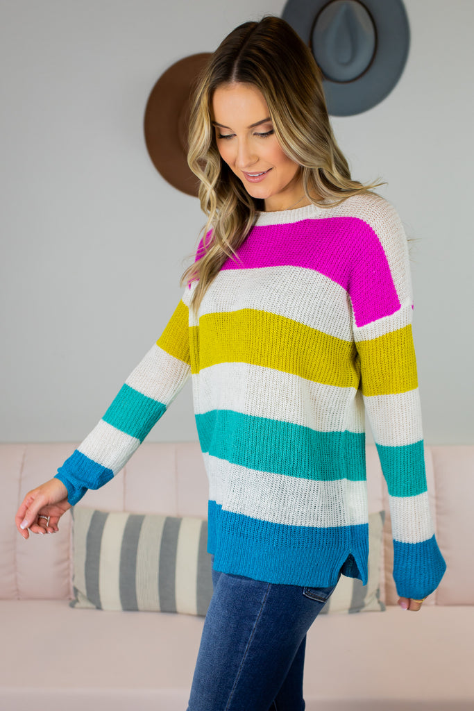 Atlas Striped Sweater