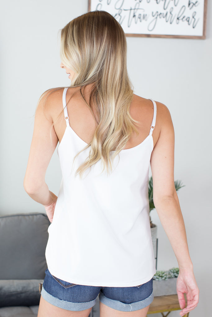 Ivey Button Down Tank - 2 colors
