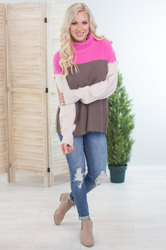 Jack and Jill Cowl Neck Sweater