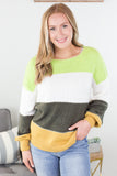 Dublin Colorblock Sweater