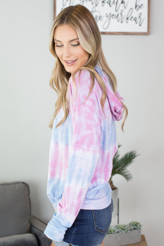 Take It Easy Tie Dye Hoodie