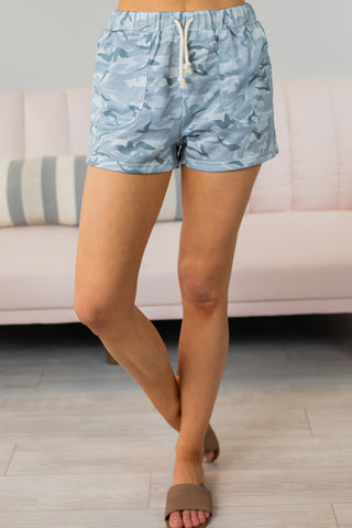 Staccato Animal Print Shorts