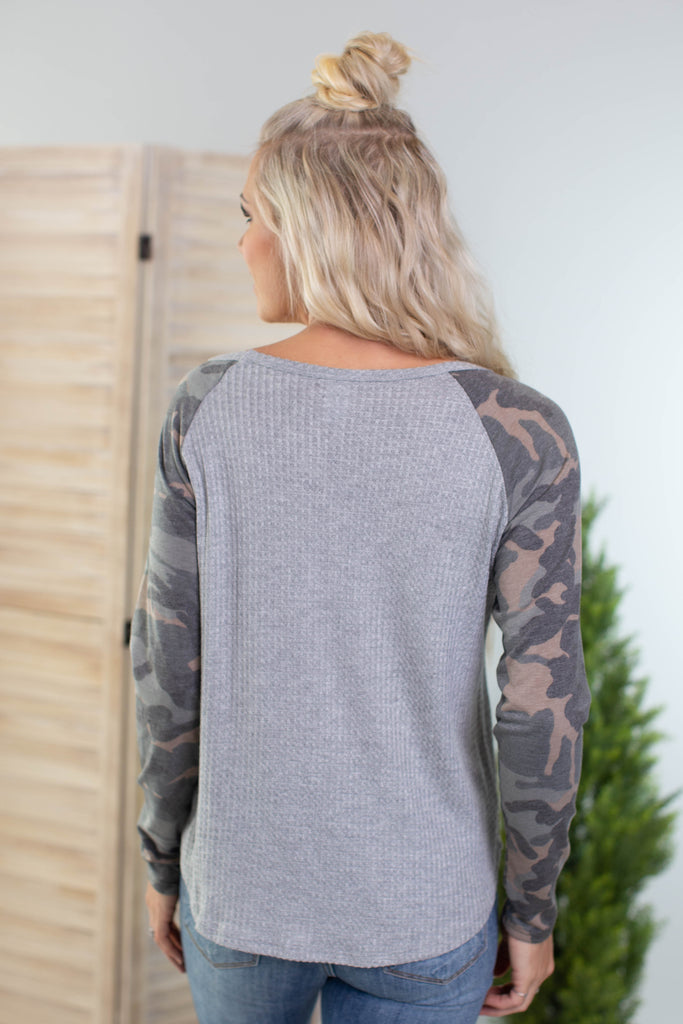 Battle Field Camo Top