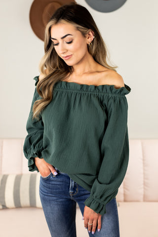 Brinley V Neck Top
