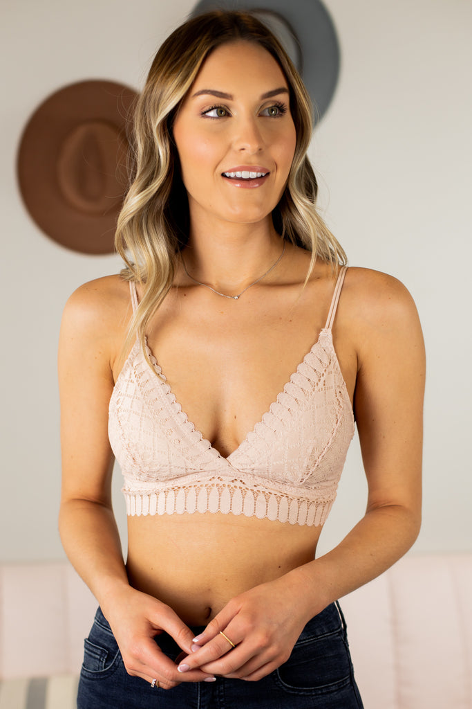 Deliah Lace Bralette - 5 Colors