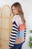 Getaway Striped Sweater