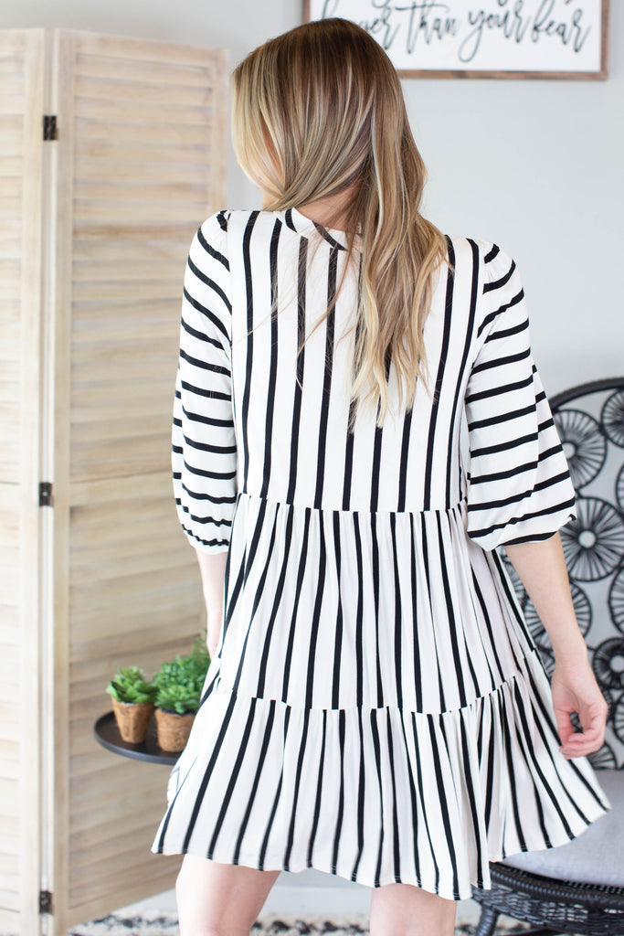 Beeson Striped Dress