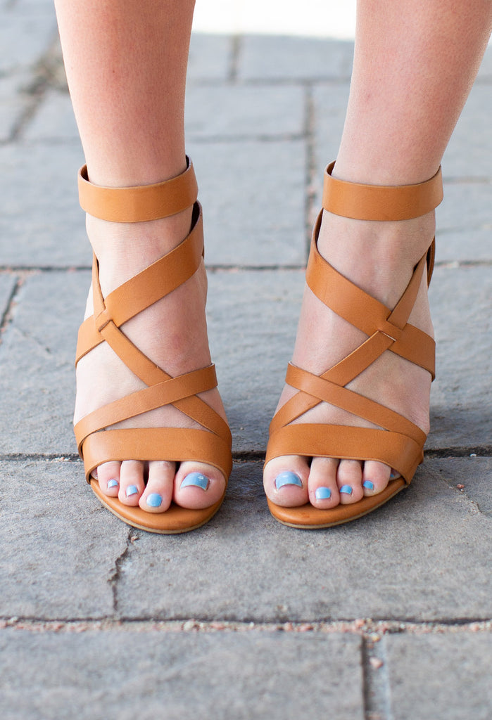 Faith Strappy High Heels