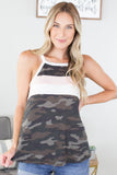 G.I. Jane Colorblock Tank - 2 Colors