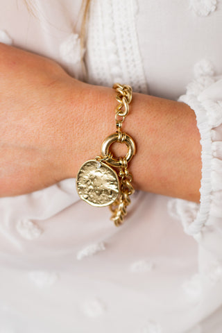 Cheetah Bracelet Keychain - 2 Colors