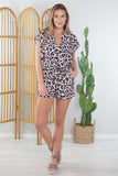 Wild and Out Romper