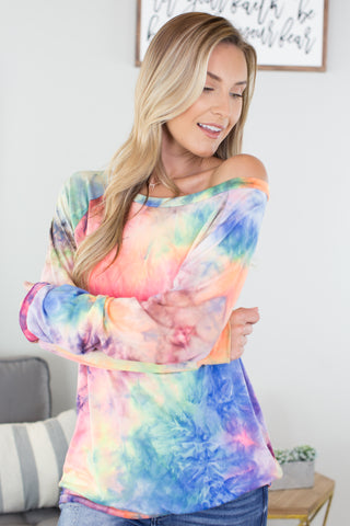 Kaleidoscope Hooded Tie Dye