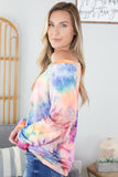 Blast From The Past Tie Dye Top