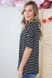 Jail Bird Striped Top - 3 Colors