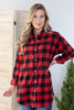 Lumber Jack Button Down Flannel Top