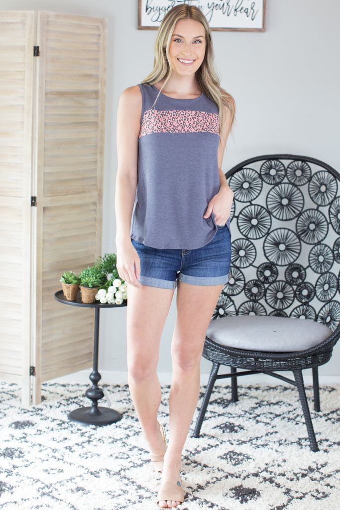 Katy Summer Accent Tank