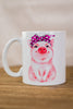 Petunia Pig Breast Cancer Awareness Mug