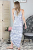 Grey Moon Tie Dye Maxi Dress - 2 Colors
