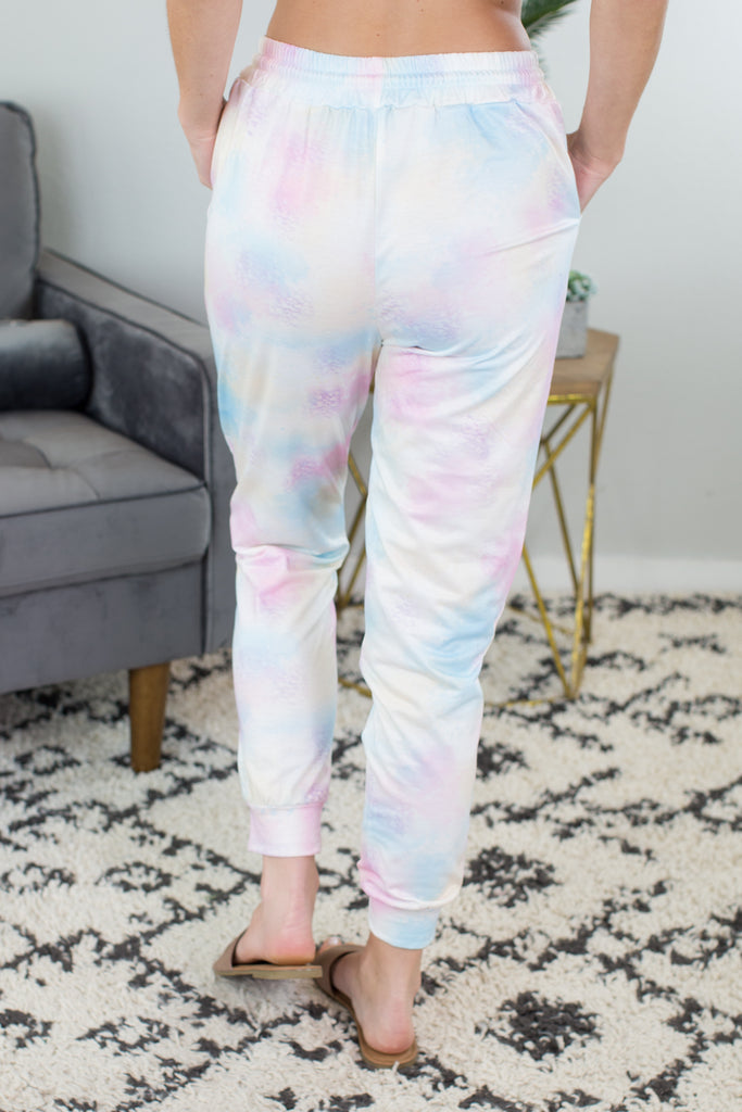 Sunburst Tie Dye Joggers - 2 Colors