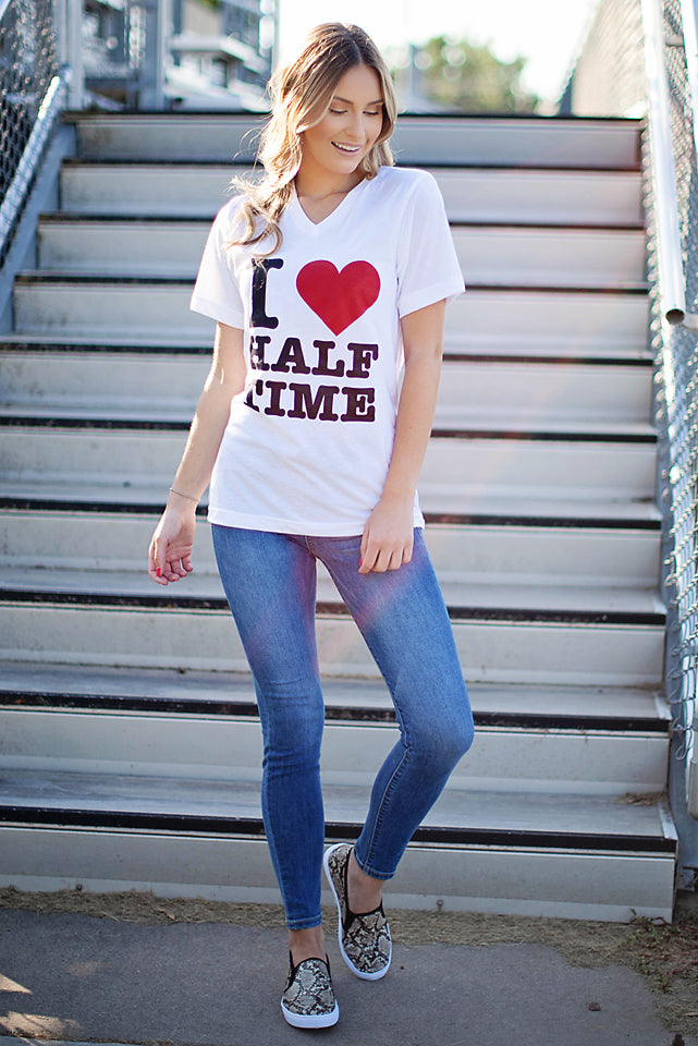 Love Halftime Graphic Tee