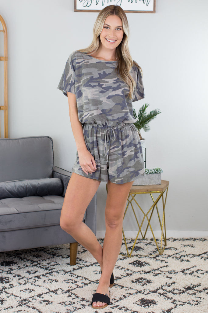 Field Training Camo Romper