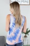 Blue Earth Tie Dye Top