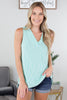 Jail Break Sleeveless Top - 2 Colors