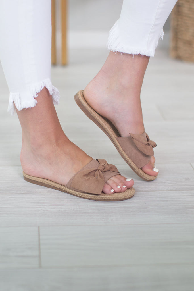 Perfect Life Bow Sandals