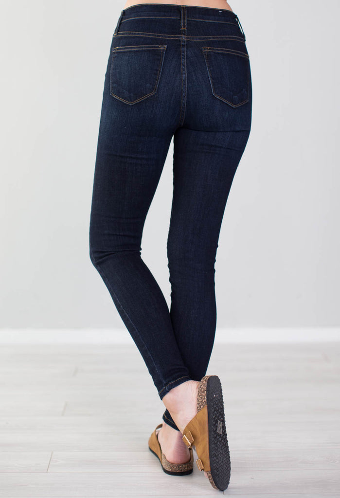 Spring is Here Judy Blue Skinny Jeans