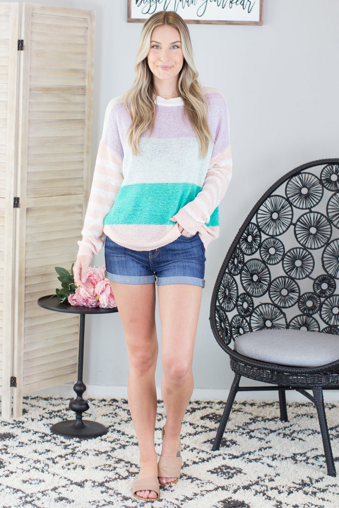 Summer Must Striped Sweater