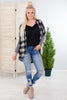 Cleo Plaid Cardigan