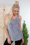 Shimmer And Shine Sequin Tank