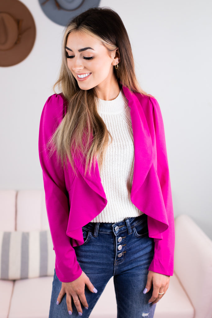Emmy Peplum Blazer - 2 Colors