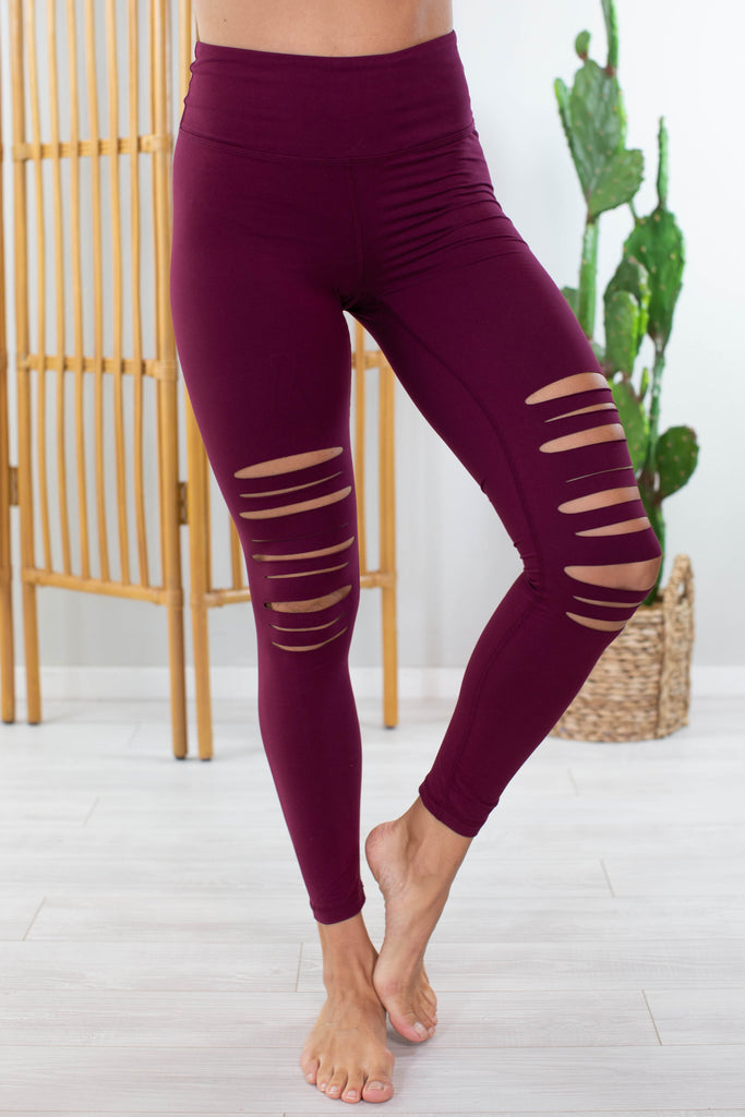 Fall Colors Biker Chic Leggings- 3 colors!