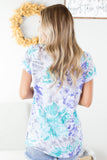 Troubled Waters Tie Dye Top