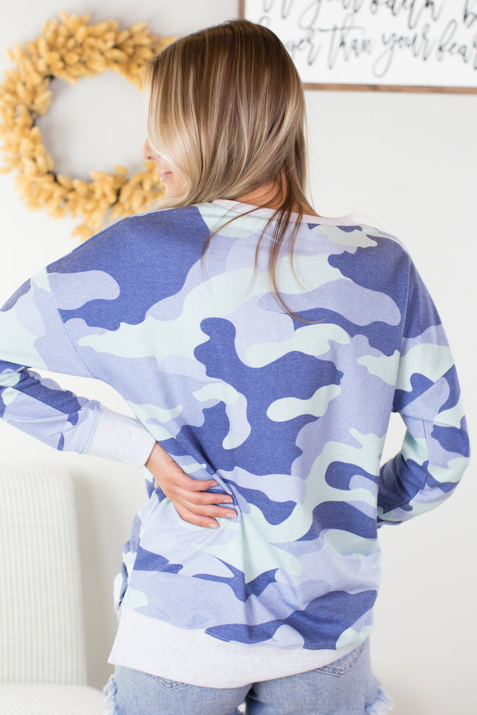 Special Forces Camo Top