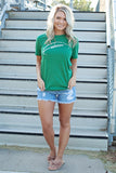 Football Graphic Tee- 2 colors!