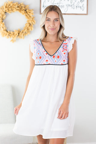 Ice Cream Social Maxi Dress