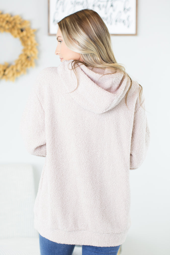 Snuggle In Hooded Pullover - 2 Colors