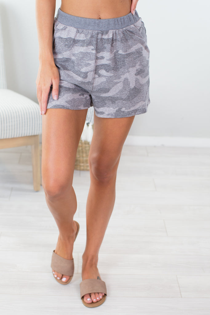 Tank Camo Comfy Shorts - 2 Colors