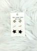Storm Warning Earring Set