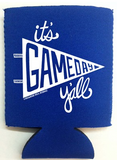 Game Day Y'all Koozie - 5 Colors!!
